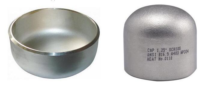 4 inch stainless steel pipe cap | Metleader Pipeline